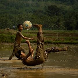 Mudball by Han's Handoko - Sports & Fitness Soccer/Association football ( twmf )