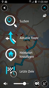 TomTom GPS-Navigation Traffic Screenshot