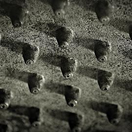Spikes by Prasanta Das - Abstract Patterns ( spikes, pattern, iron )