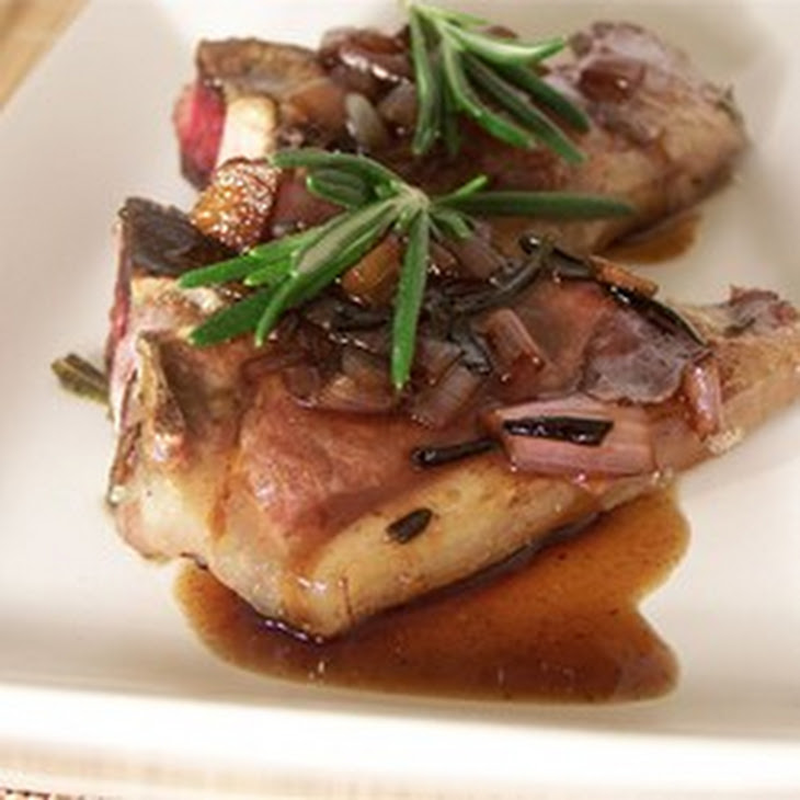 Lamb Chops with Balsamic Reduction