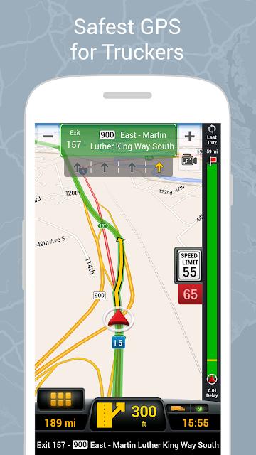 CoPilot Truck USA & CAN - GPS screenshots