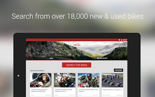 Screenshot of Bikesales