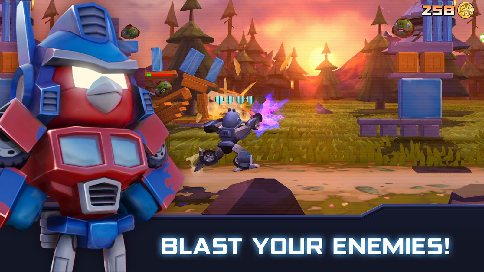 Angry Birds Transformers Screenshot 7