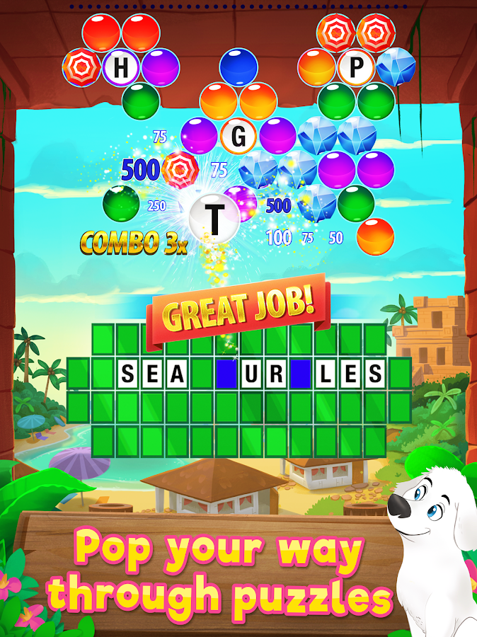 Wheel of Fortune PUZZLE POP Screenshot 4