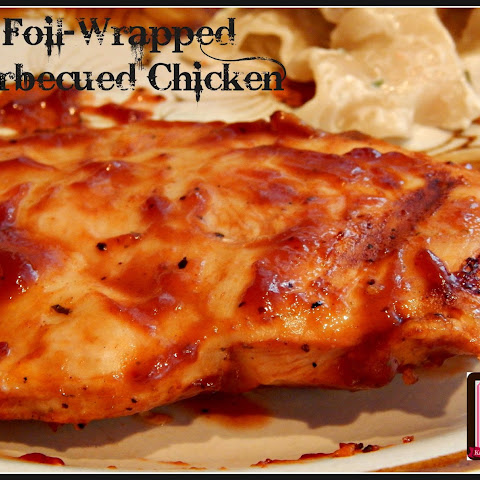 Foil-Wrapped Barbecued Chicken