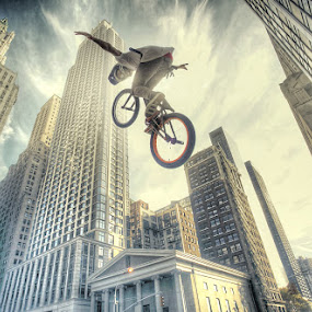 Big Air by Reza Roedjito - Sports & Fitness Cycling ( Bicycle, Sport, Transportation, Cycle, Bike, ResourceMagazine, Outdoors, Exercise, Two Wheels, Free, Freedom, Inspire, Inspiring, Inspirational, Emotion )