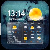 Download Transparent Clock & Weather APK on PC