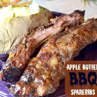 Crock Pot Apple Butter BBQ Spareribs