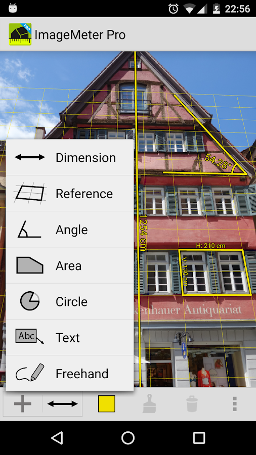 ImageMeter Pro - photo measure Screenshot 0