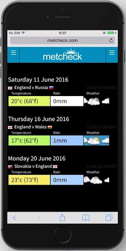 EURO2016 Fixtures + Weather APK