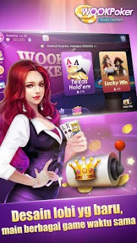 WOOKPoker APK screenshot thumbnail 1