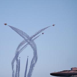 Aerobatics #2 by Koh Chip Whye - Transportation Airplanes (  )