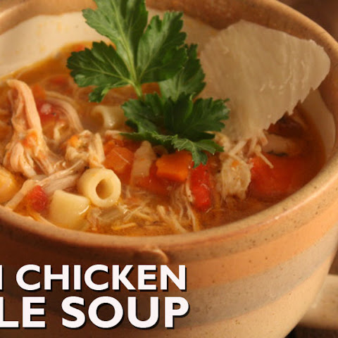 Sicilian Chicken Noodle Soup