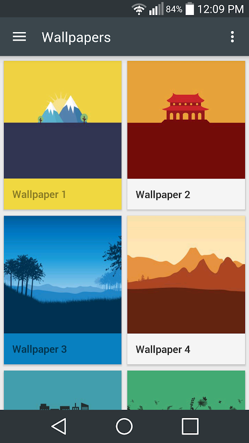 Flatout Minimal IconPack Theme Screenshot 5