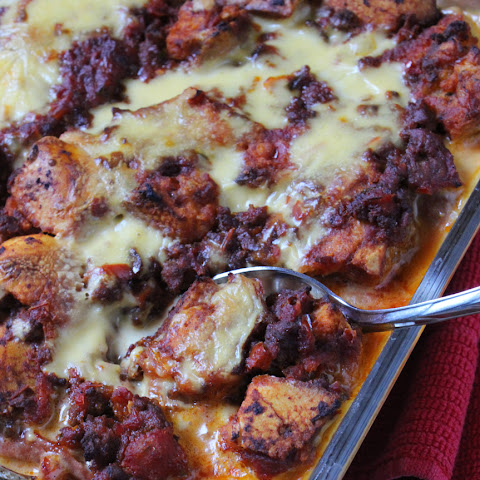 Chili Cheese Dog Casserole