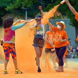 Sweet Orange Powder ! by Marco Bertamé - Sports & Fitness Other Sports