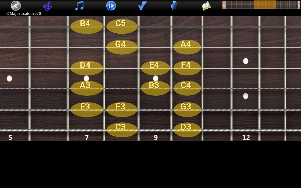 Guitar Scales & Chords Pro Screenshot 9