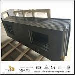 Black Quartz Slab Worktops For Kitchen Counter With Best Prices