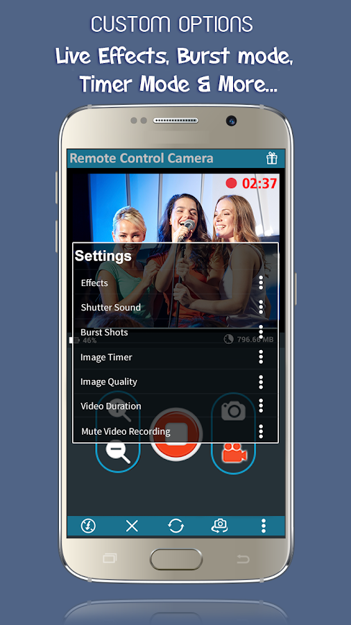 Phone Camera Remote CCTV Pro Screenshot 1