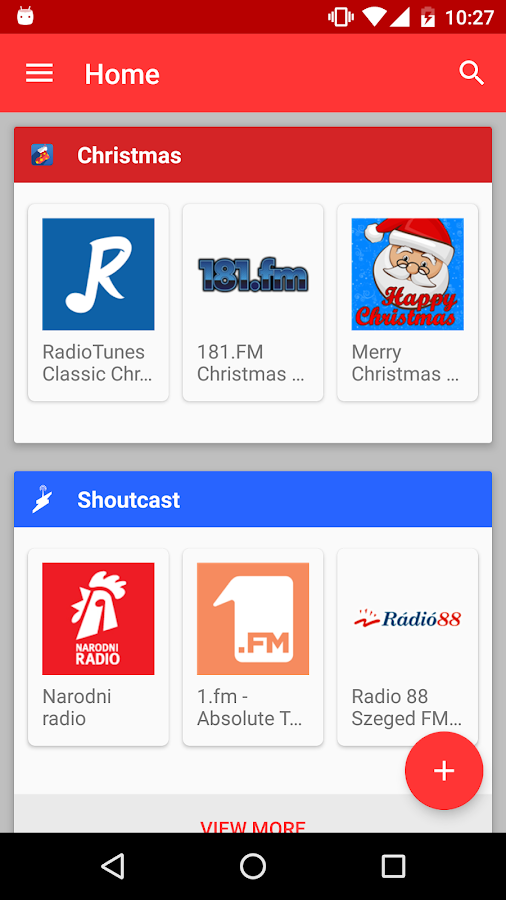 Internet Radio Player Screenshot 4