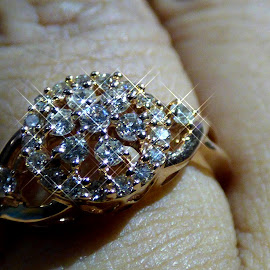 Diamonds  by Mahmudul Tapon - Abstract Macro ( lights, abstract, macro, diamonds, close up )