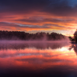 One Fine Morning by Karl Bodtorf - Landscapes Waterscapes