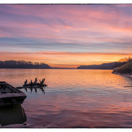 Sunrise at Danube by Vanja Vidaković - Landscapes Sunsets & Sunrises