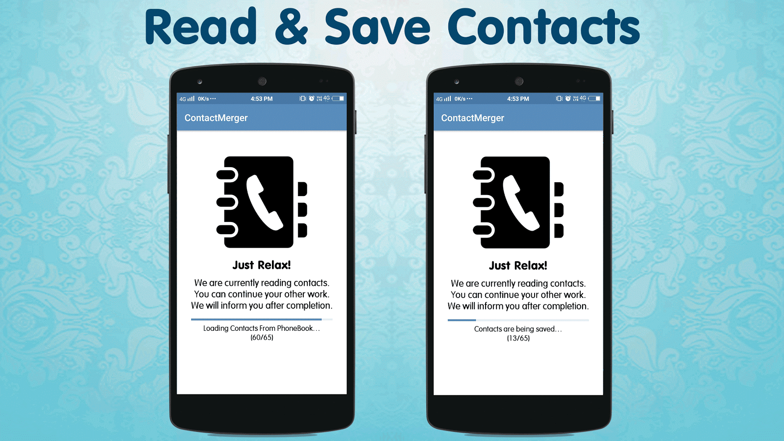 Duplicate Contact Merger Screenshot 1