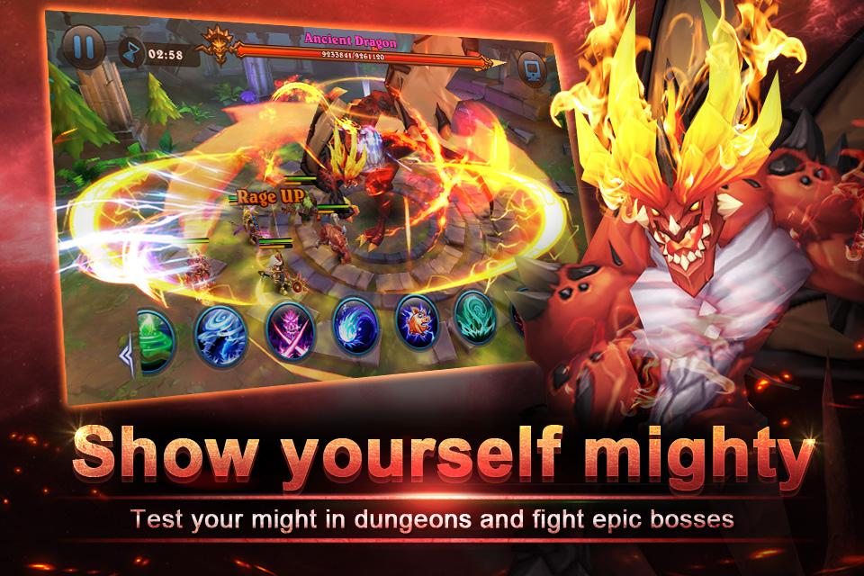 Magic Legion - Age of Heroes Screenshot 4