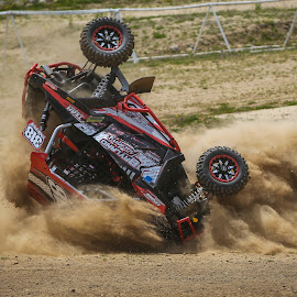 Head First by Kenton Knutson - Sports & Fitness Motorsports ( racing, dust, utv, dirt, crash )