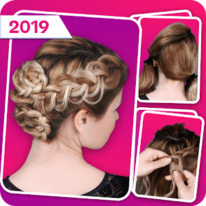 Latest Hairstyles Step by Step: Long, Short Hair For PC / Windows 7/8/10 / Mac – Free Download