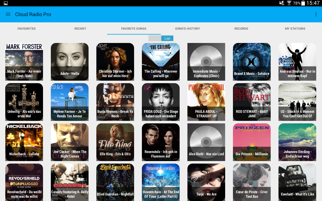 Cloud Radio Pro(Record&Lyrics) Screenshot 10