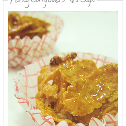 Honey Cornflakes Mini Cups