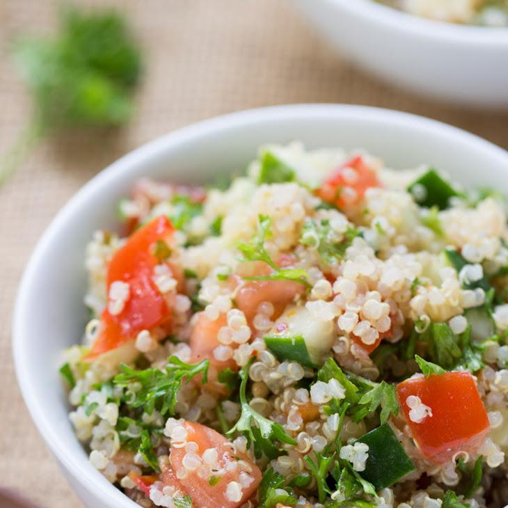 Quinoa Tabbouleh Salad Recipe | Yummly