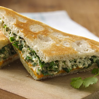 Cilantro Tuna Melts