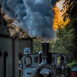 by Dragan Rakocevic - Transportation Trains