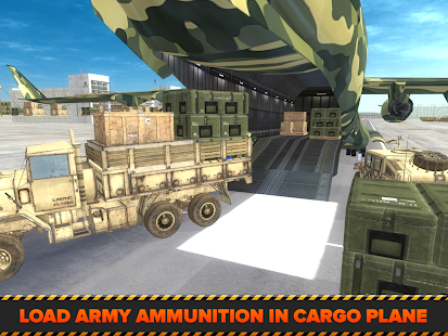 Game Army Cargo Plane Airport 3D APK for Kindle