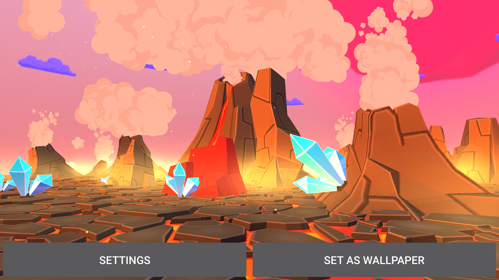 Volcano 3D Live Wallpaper Screenshot 8