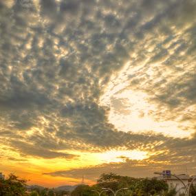 by Harris Daniel - Landscapes Cloud Formations
