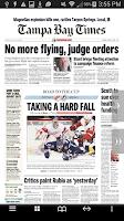 Screenshot of Tampa Bay Times