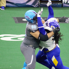 Not This Time by Lisa Newberry - Sports & Fitness American and Canadian football ( uniforms, football, turf, men, arena football )
