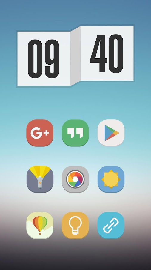 Stock UI - Icon Pack Screenshot 2