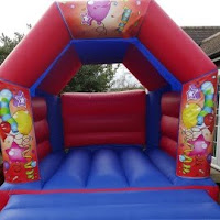RED BALLOONS BOUNCY CASTLE FOR HIRE SURBITON / SURREY