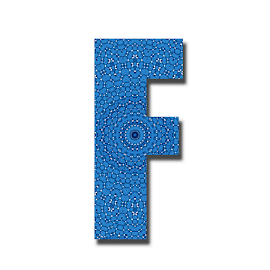 Alphabet -F by Dipali S - Typography Single Letters ( headline, graphic, decorative, illustration, type, calligraphy, quote, inscription, place, classic, note, typographic, f, template, icon, element, text, creative, decoration, letter, font, art, advertisement, calligraphic, sign, message, frame, background, artistic, alphabet, typography, english, design )