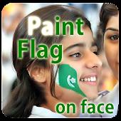 Paint Flag On Face APK for Bluestacks