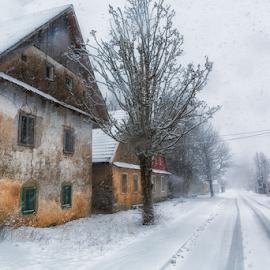 Winter time in Mrkopalj by Stanislav Horacek - Buildings & Architecture Homes