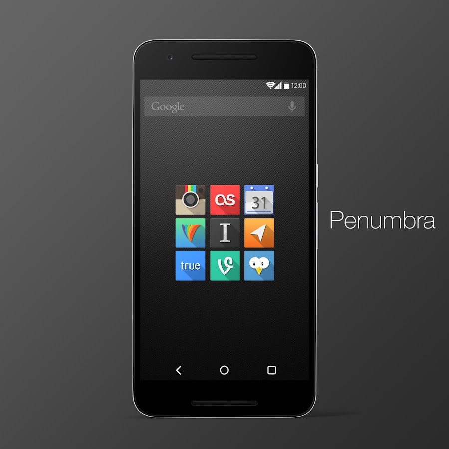 Penumbra UI Icon Pack Screenshot 0