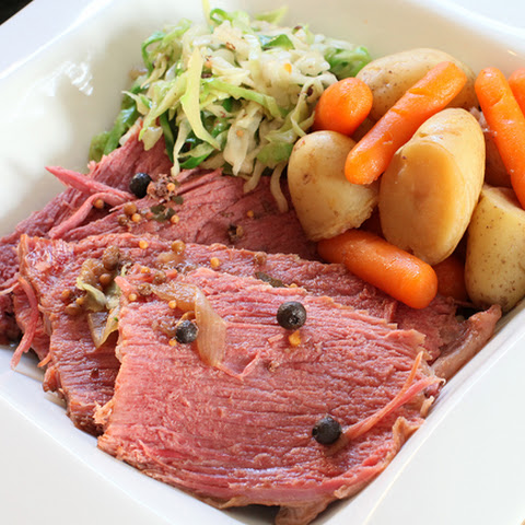 St. Patrick's Corned Beef & Cabbage