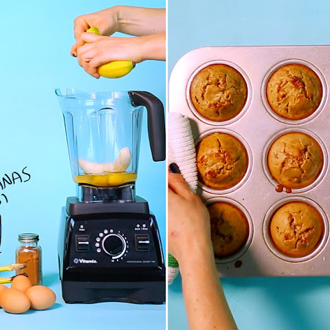 2. Grain-Free Cinnamon-Raisin Blender Muffins