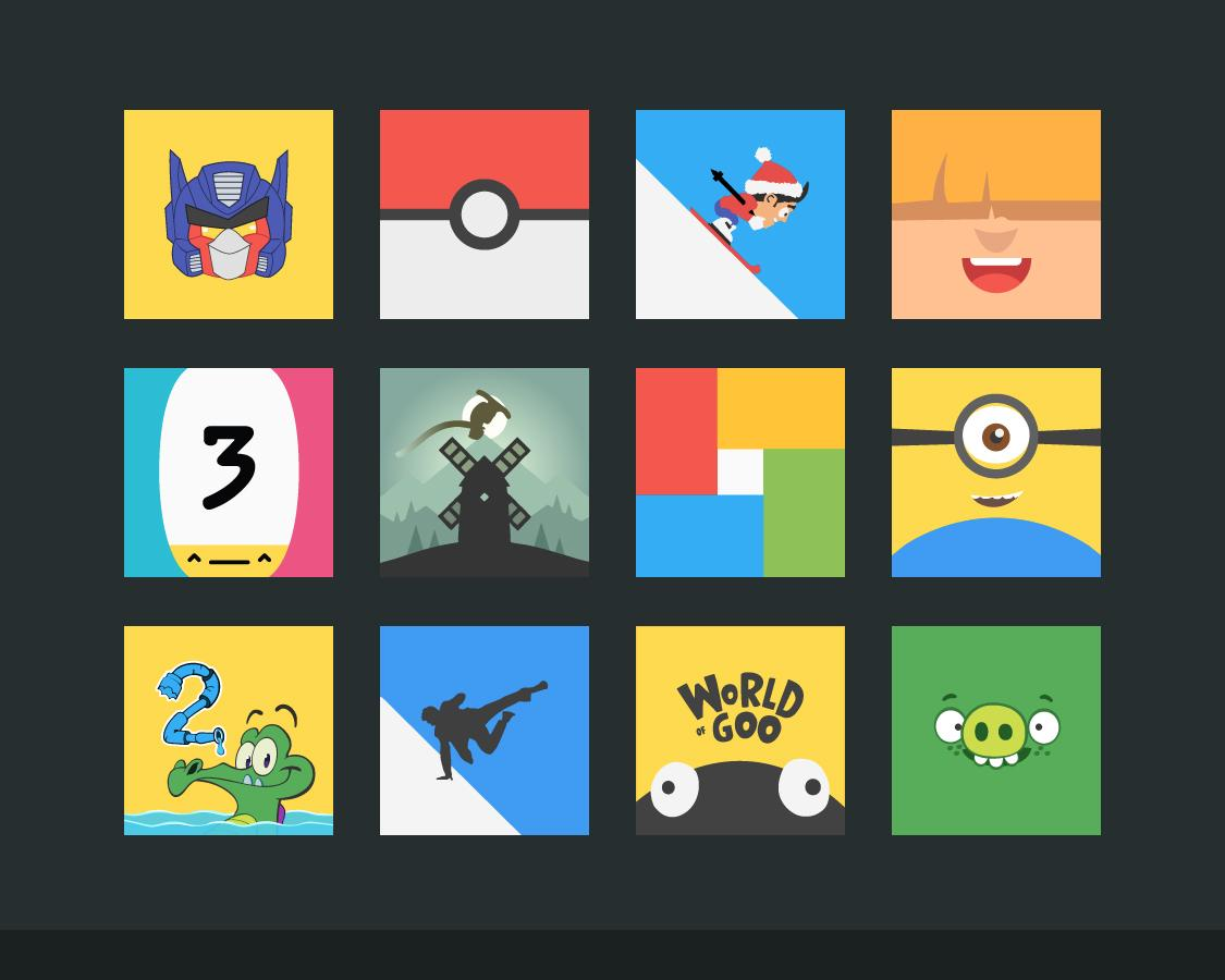 Flatout Minimal IconPack Theme Screenshot 6